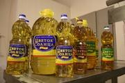 Масло подс.,  рафин.,  дезодор.,  выморож. на экпорт 0, 83 долл