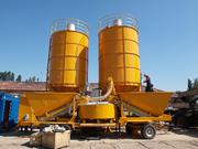 Мобильный бетонный завод М-2200 БСУ, РБУ в Душанбе