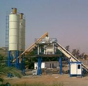 Стационарный бетонный узел HZS 50 (50 м3/час) БСУ Таджикистан