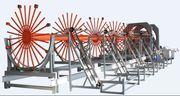 Линия для изготовления цилиндрических каркасов TJKHL15/20/30.