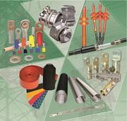 Кабельные муфты,  кабельная арматура,  фитинги,  стальные стяжки,  инструм