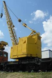 Кран железнодорожный КЖС-16. (16 тонн).