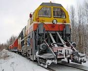 Снегоуборочный поезд. СМ-2.